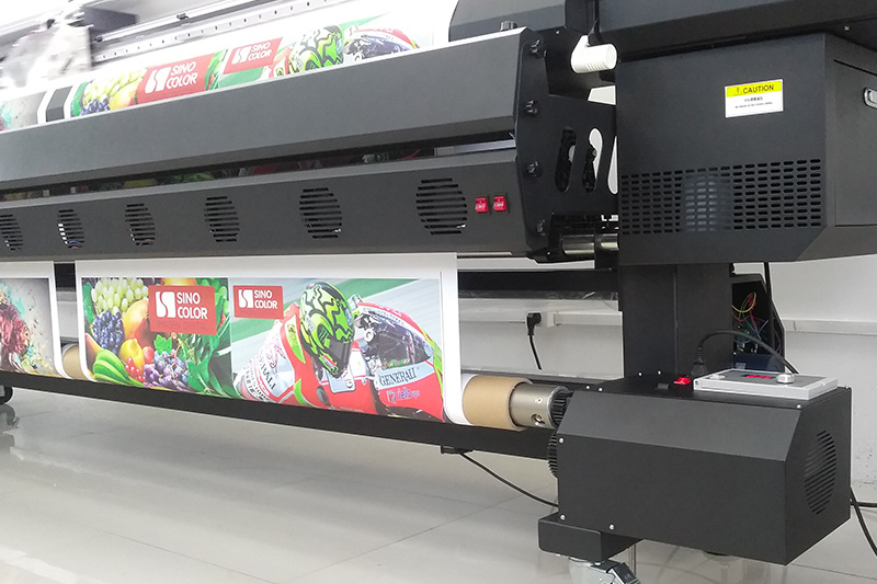 Eco Solvent Printer 126-inch / 3.2 meter Flagship Model Storm SJ-1260C