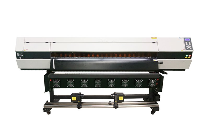 1.8M SUBLIMATION PRINTER WJ-1803P WITH THREE 5113 HEAD